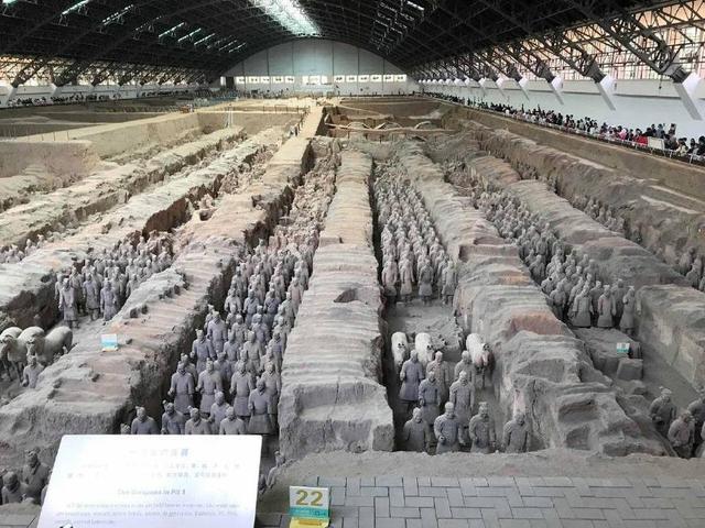 世界第八大奇迹,秦始皇陵兵马俑,非常值得一看哦