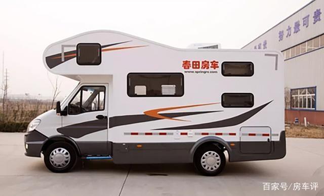 官方报价42.8万元的依维柯C型房车,和春天一起同行