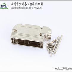 厂家直销90度D-SUB37P铁壳,DB37铁壳