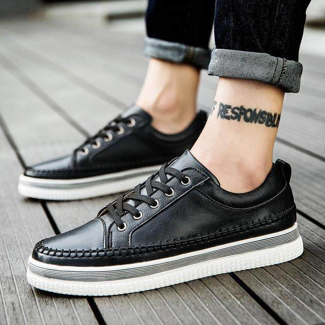 你與型男隻差一雙休閒鞋 春季新款男神休閒鞋,穿鞋子不簡單