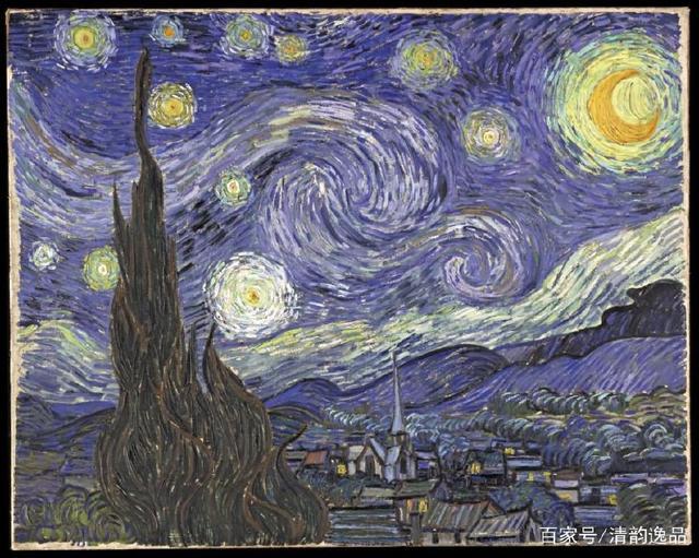 梵高经典名画《星空》赏析