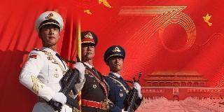 《庆祝中华人民共和国成立70周年大会 阅兵式 群众游行特别报道》 20191001| CCTV - 文章背景图片