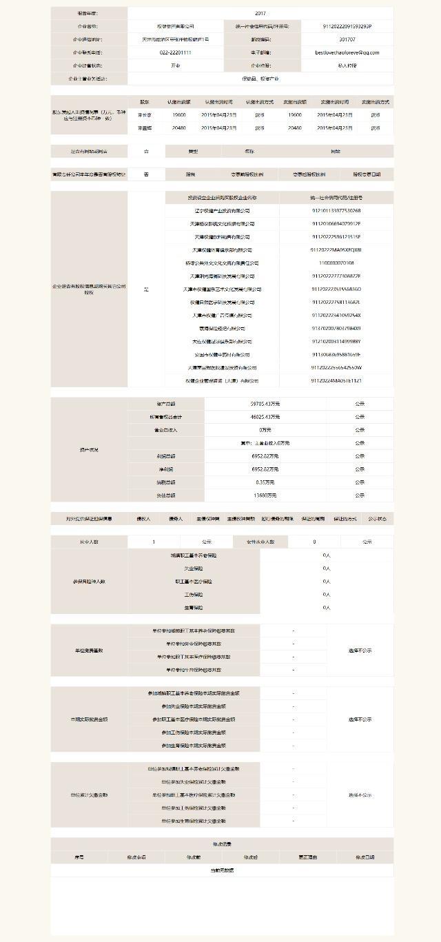 2017年纳税3500元 权健集团称不息3年直销业绩内资第一