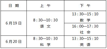杭州今年中考時間確定 市區高中招生錄取工作安排公佈