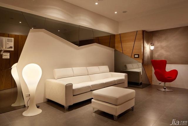 悠闲自如,自然木纹打造家具景致