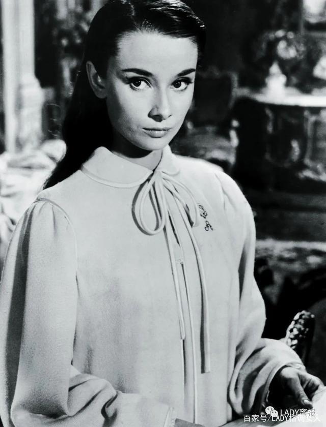 不可替代的優雅女神,奧黛麗·赫本:落入凡間的天使
