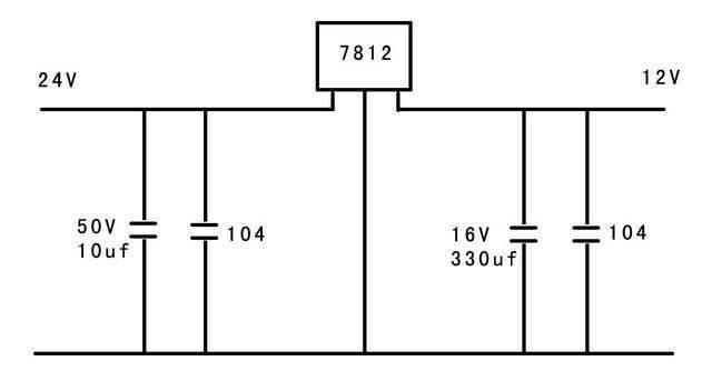 12v直流稳压电源整流桥负责把交流电变成直流双路模组