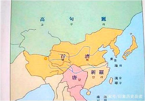 韩国古代疆域地图,心有多大国家就有多大,中国