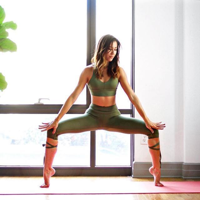 1组养颜抗衰的经典瑜伽,让你越练越年轻,杨幂都在练