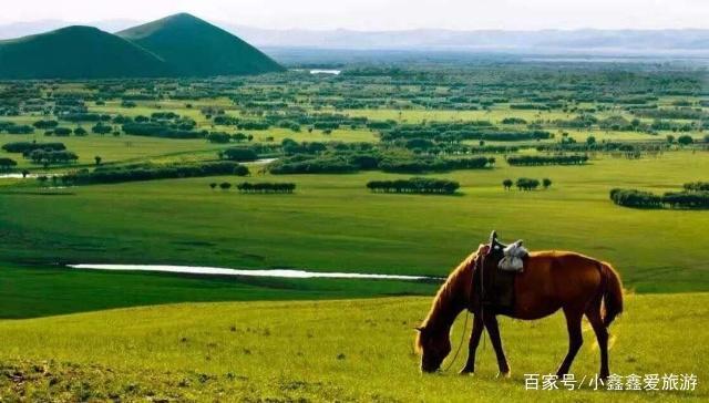 一个景色优美,适合人们游玩的地方,它就是呼伦贝尔大草原