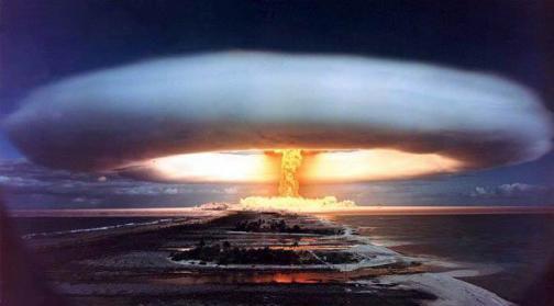 核武器地下爆破 为解决干旱战斗民族修水库的方法都与众不同