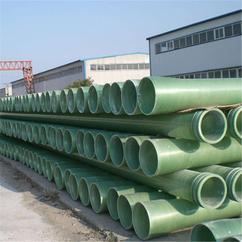 电缆电线保护管夹砂管100200250穿线管圆管市政排污水管道玻璃钢