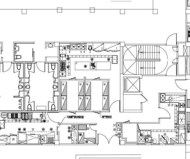 酒店商用厨房工程设计的注意事项(图1)