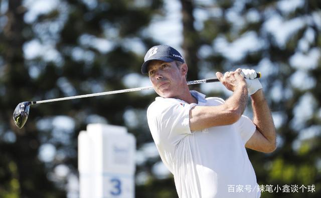 高尔夫球大师们挥杆瞬间,谁的动作更优雅?有一位接近伍兹