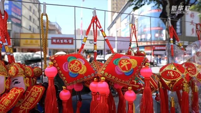 陜西隴縣:傳統香包迎端午