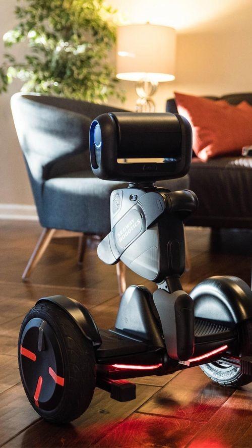 平衡车鼻祖赛格威做了这样一款机器人:能代步,能泊车,也许还有更多