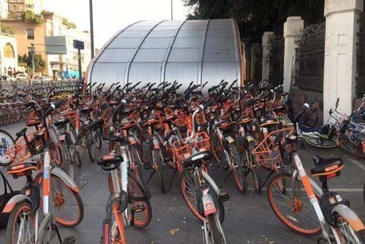 成都0F0小黄车增加10万辆摩拜单车减少5万辆