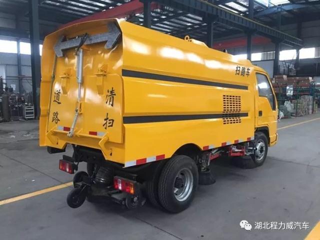 湖北程力福田时代小型扫路车_小型扫路车报价