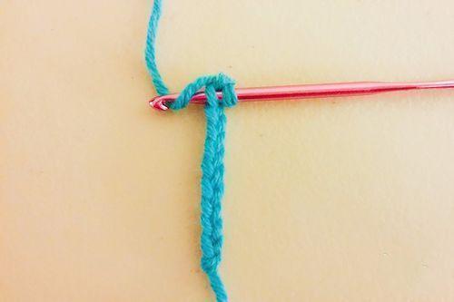 男士围巾编制方法步骤十