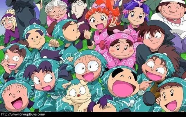 忍者乱太郎、晴天小猪、山林小猎人--日本怀旧
