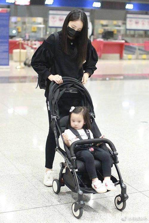 董璇带孩子现身机场,被嘲摆拍姿势太明显:可怜