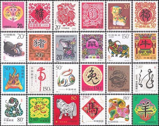 己亥猪年生肖邮票首发 最早生肖邮票为猴票 第12张