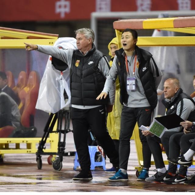 足协高层组团督战奥预赛 U25集训队战中国杯