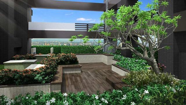 你的空中花园抗风吗? 创建园林时要特别注意风阻 选择小植物作为主要的植物