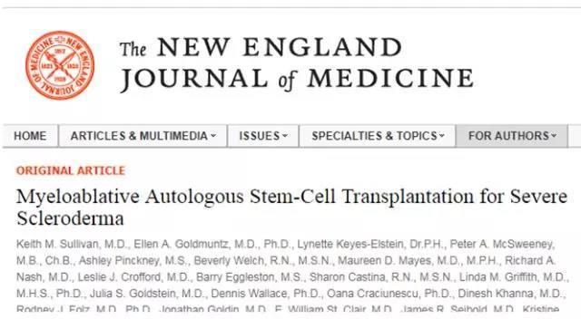 国际医学杂志刊登:对付这些疾病,干细胞移植比药物更有效!