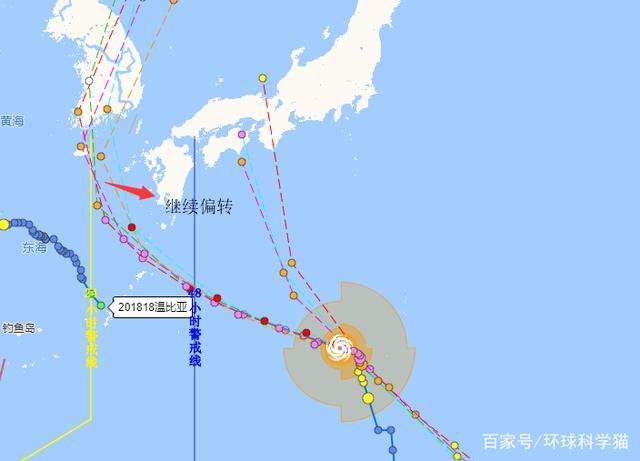 """19号台风路径""""又变""""了,20号台风预计登陆日本,可能达到14级"""