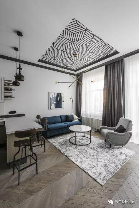 【现代】现代公寓这样的设计太牛了!-第30张图片-赵波设计师_云南昆明室内设计师_黑色四叶草博客