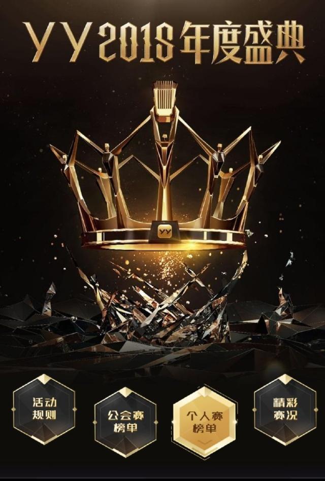 yy2016年度盛典 2016yy年度盛典排名榜