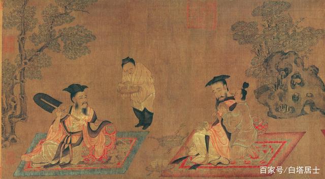 中国古代的陶瓷杯多没有把,难道不烫手?原来古代杯是干这个用的