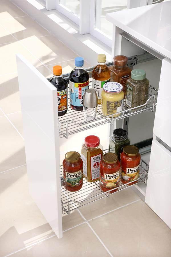 厨房收纳规划的实用技巧,让小空间也有大容量!