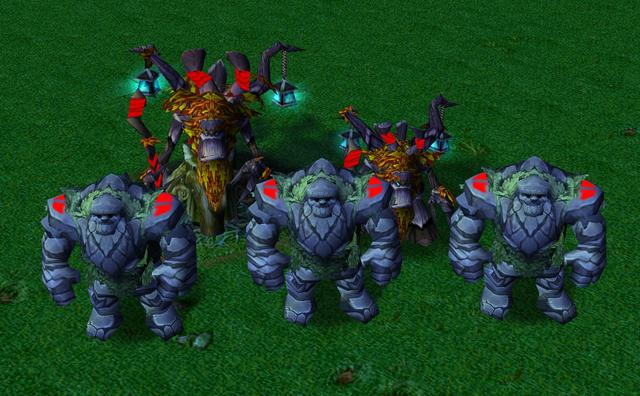 魔獸爭霸3中的這幾個單位,可以用模型很大,能力很小來形容!