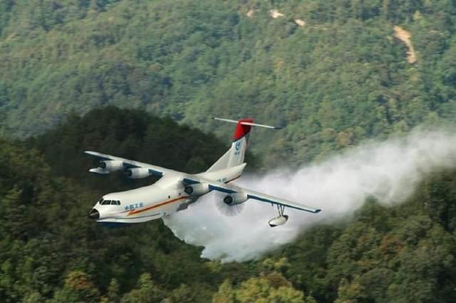 美国加州大火呼唤灭火飞机,中国蛟龙大型灭火机即将首飞