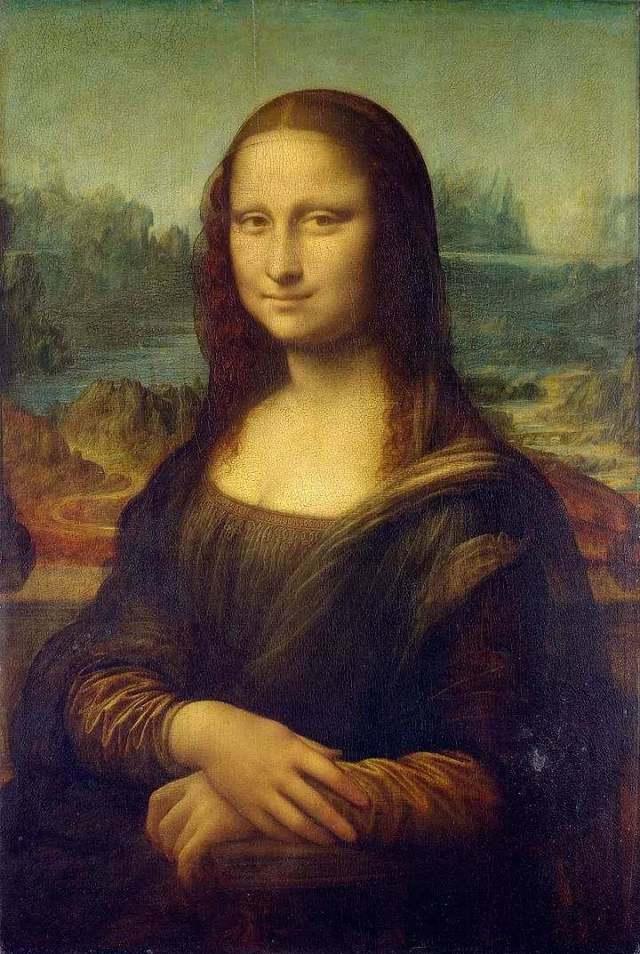 蒙娜丽莎好像没有眉毛?