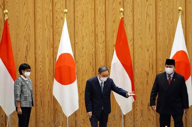 日本與印尼達成武器出口協議,還可能提供貸款開發港口