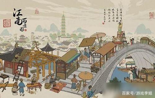 《江南百景图》:有很多玩家为了在游戏中赚钱,疯狂挖井肝铜币