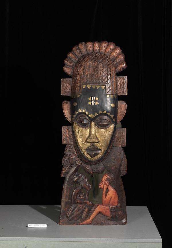 中国美术馆展出非洲木雕作品:呈现非洲艺术的淳朴与神秘