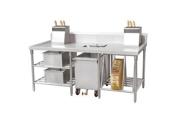 酒店厨房设备摆放要注意它们的协调性(图2)