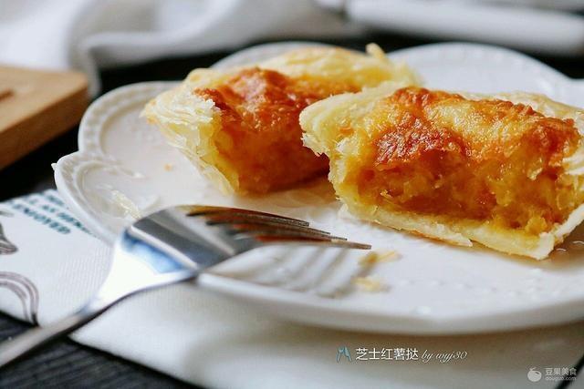 芝士红薯挞的做法
