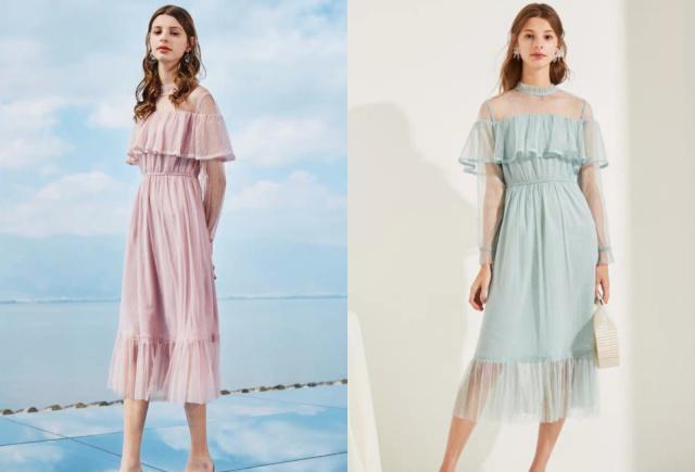 今年流行穿這幾款連衣裙,趕快穿起來,不要辜負明媚的陽光