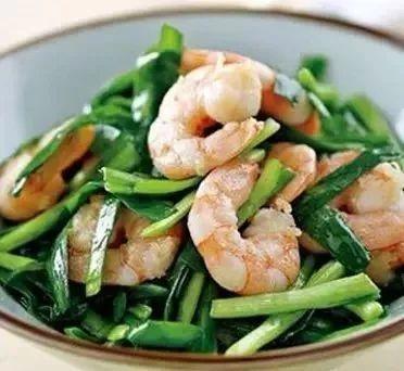 韭菜鲜虾这样搭配,营养美味又健康,好吃到停不下来!