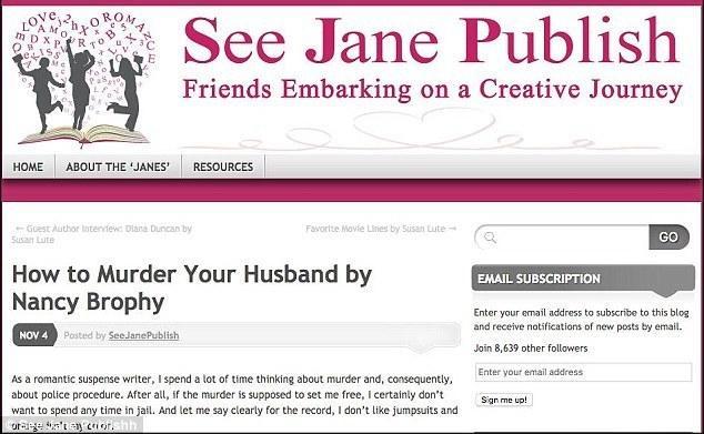 """写过""""如何谋杀你丈夫""""女小说家,谋杀了自己丈夫"""