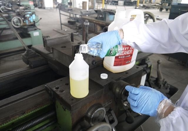 安全除油剂
