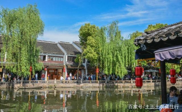 江苏省苏州市周边的木渎周庄甪直古镇同里古镇旅游景点游记图片