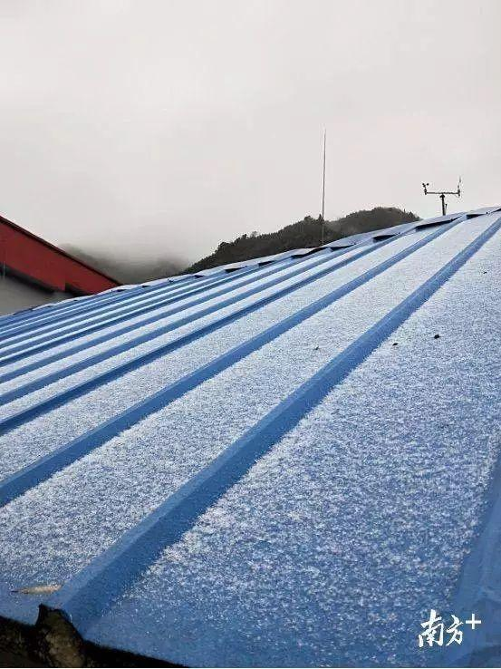 湿冷攻击持续,广东迎来今冬初雪!气温将继续下降,冷到炸裂!