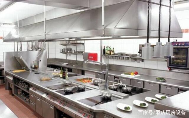 酒店厨房设备摆放要注意它们的协调性(图3)