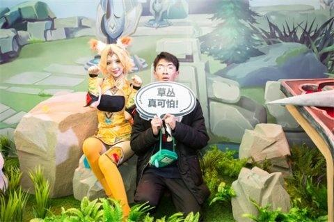 """王者""""峡谷开放日""""登陆腾讯TGC,大熊猫王耀耀惊喜""""现身""""[视频][多图]图片3"""